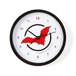 redbat design Wall Clock