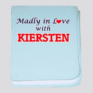 Madly in Love with Kiersten baby blanket