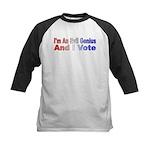 Evil Genius Voter Kids Baseball Jersey