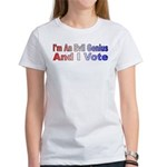 Evil Genius Voter Women's T-Shirt