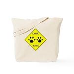 Lynx Crossing Tote Bag