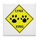 Lynx Crossing Tile Coaster