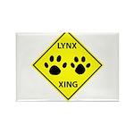 Lynx Crossing Rectangle Magnet (10 pack)