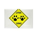 Lynx Crossing Rectangle Magnet (100 pack)