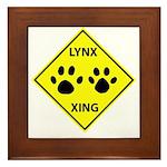 Lynx Crossing Framed Tile