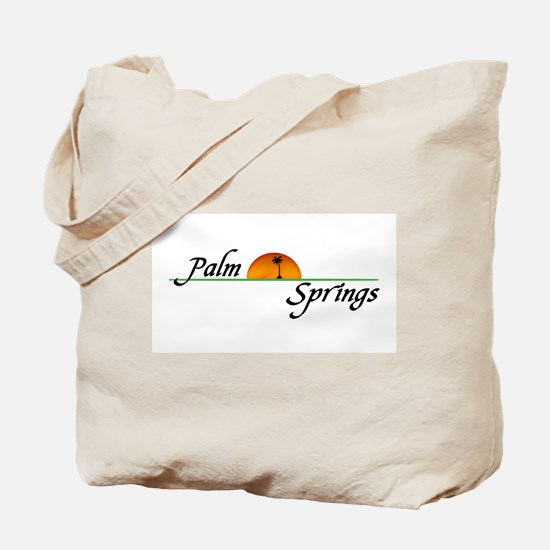 Palm Springs Sunset Tote Bag