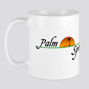 Palm Springs Sunset Mug