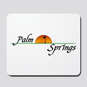 Palm Springs Sunset Mousepad