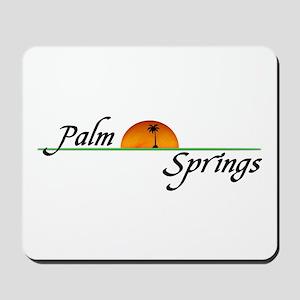 Palm Springs Sunset Mousepad