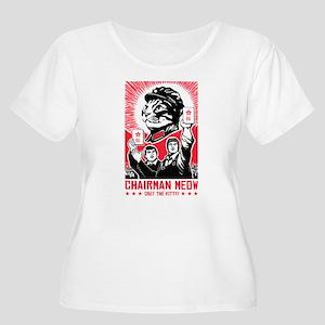 follow_chairman_lght Plus Size T-Shirt