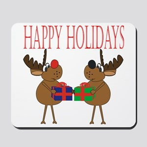 Holiday Reindeer Mousepad