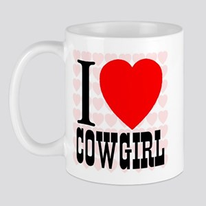 I Love Cowgirl Mug