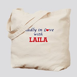 Madly in Love with Laila Tote Bag