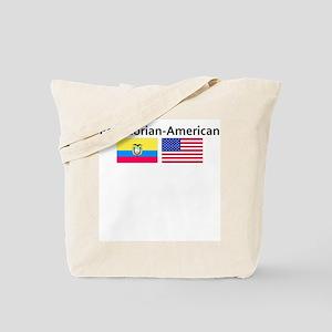 Ecuadorian American Tote Bag