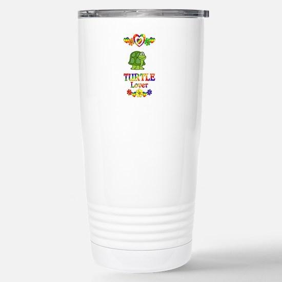 Turtle Lover Stainless Steel Travel Mug