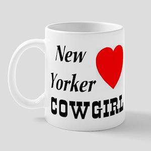 New Yorker (Heart) Cowgirl Mug