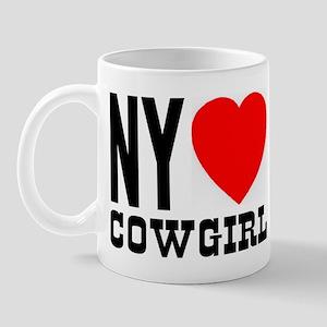 NY Heart Cowgirl Mug