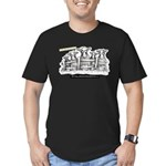 Myths Zombie Cows Men's Fitted T-Shirt (dark)