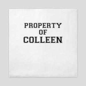 Property of COLLEEN Queen Duvet