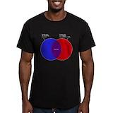 Simon garfunkel Fitted Dark T-Shirts