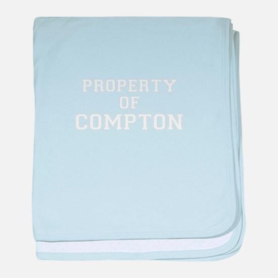 Property of COMPTON baby blanket