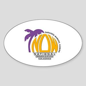 NOW Sarasota_Manatee Logo Sticker