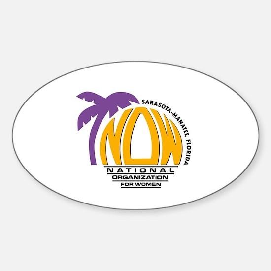 NOW Sarasota_Manatee Logo Decal