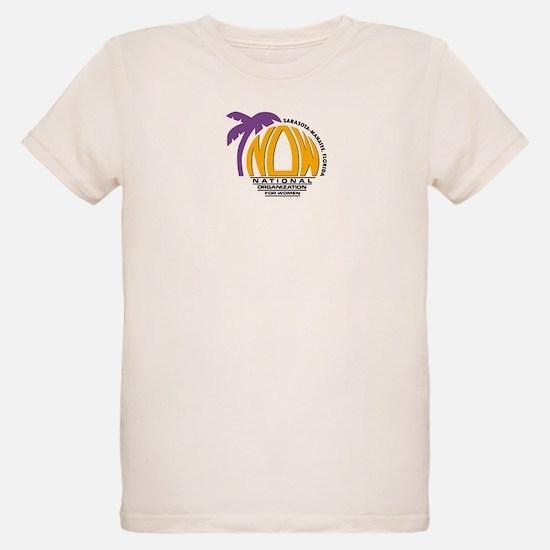 NOW Sarasota_Manatee Logo T-Shirt