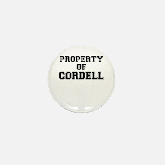 Property of CORDELL Mini Button