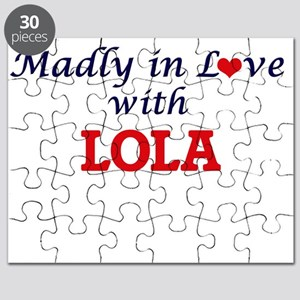 Madly in Love with Lola Puzzle