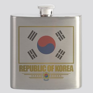 South Korea (Flag 10) Flask