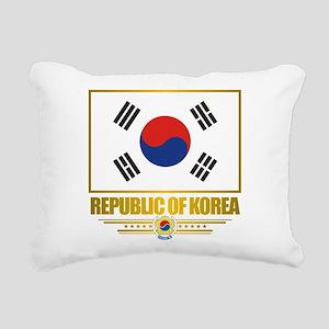 South Korea (Flag 10) Rectangular Canvas Pillo