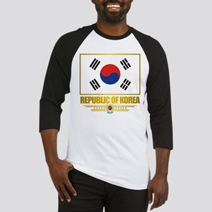 """Republic of Korea Flag"" Baseball Jersey"