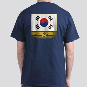 """Republic of Korea Flag"" Dark T-Shirt"