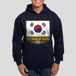 """""""Republic of Korea Flag"""" Hoodie (dark)"""