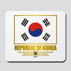 """Republic of Korea Flag"" Mousepad"
