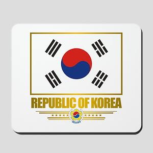 """""""Republic of Korea Flag"""" Mousepad"""