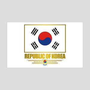 """Republic of Korea Flag"" 38.5 x 24.5 Wall Peel"