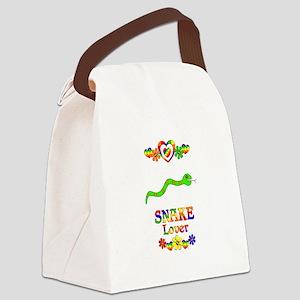Snake Lover Canvas Lunch Bag
