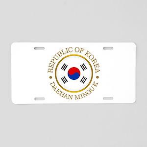 Korea (rd) Aluminum License Plate
