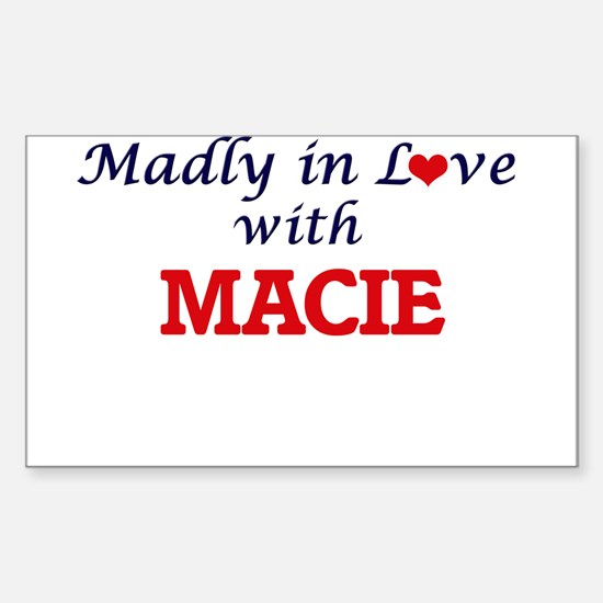 Madly in Love with Macie Decal