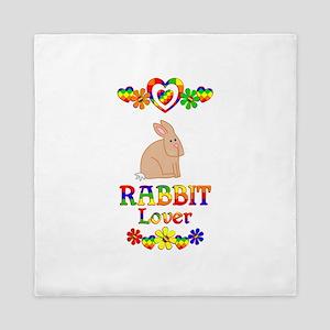 Rabbit Lover Queen Duvet