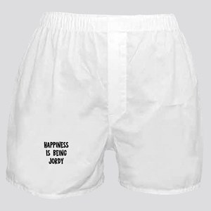 Happiness is being Jordy Boxer Shorts