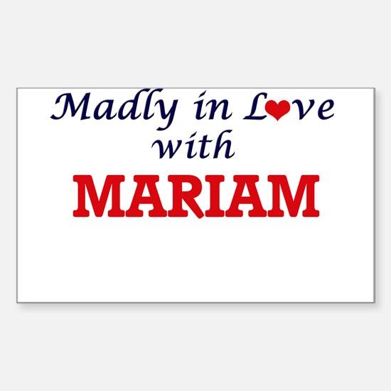 Madly in Love with Mariam Decal