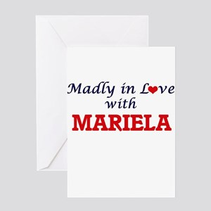 Madly in Love with Mariela Greeting Cards