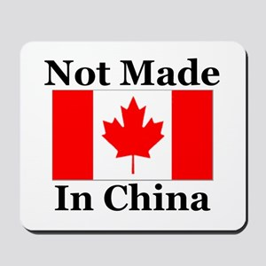 Not Made In China - Canadian Mousepad