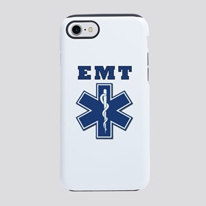 EMT Blue Star Of Life* iPhone 8/7 Tough Case