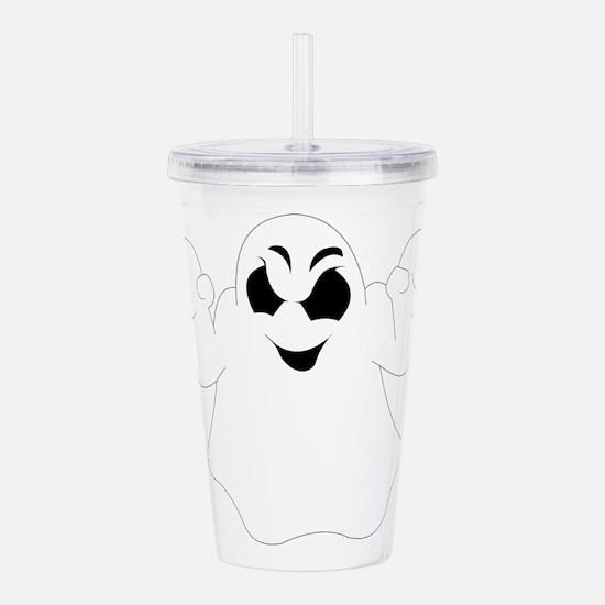 Halloween Ghost Acrylic Double-wall Tumbler
