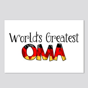 Oma Postcards (Package of 8)