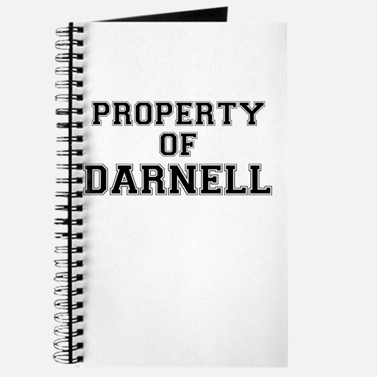 Property of DARNELL Journal